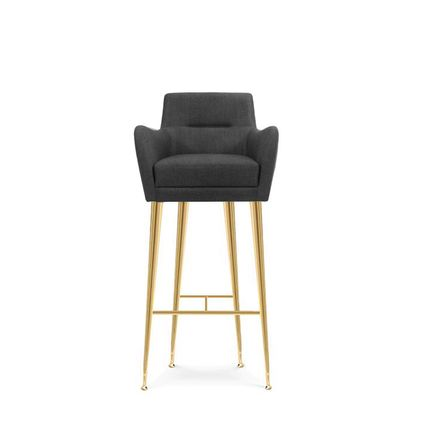 Chairs - Dandridge Bar Chair - ESSENTIAL HOME