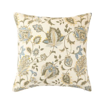 Cushions - The Knotted Florid Cushion Cover - THE INDIAN PICK