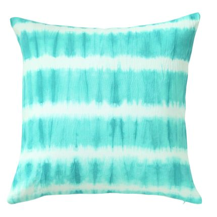 Cushions - Ribboned Jade Cushion Cover - THE INDIAN PICK