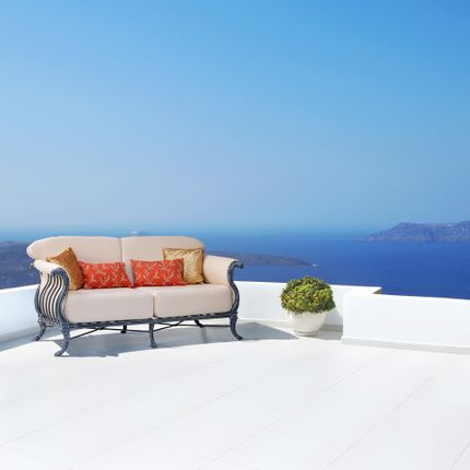 Lawn sofas   - Luxor Double Sofa - OXLEY'S FURNITURE