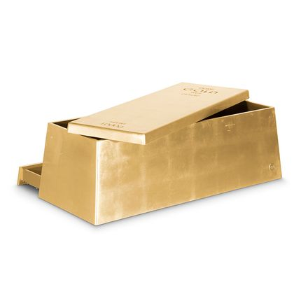 Children's bedrooms - GOLD TOY BOX - CIRCU