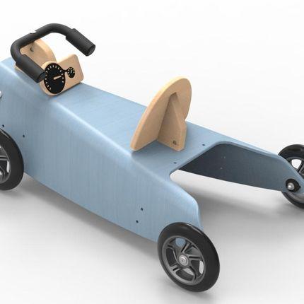 Jouets - Porteur Auto évolutif en bois (2 jouets en 1) - CHOU DU VOLANT