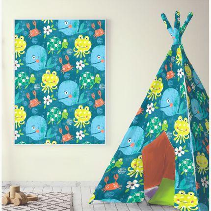 Chambres d'enfants - Designs for home textiles for children - DIANE HARRISON DESIGNS LTD