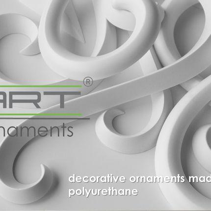 Moulures - ART Ornements décoratifs en polyuréthane - ELITE DECOR INDUSTRY