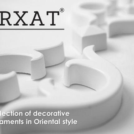 Moulures - ARXAT Ornements décoratifs en polyuréthane de style Oriental - ELITE DECOR INDUSTRY