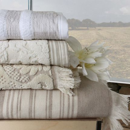 Bath towel - LUXURY TERRY TOWELS - MIA ZARROCCO - FINE LINENS
