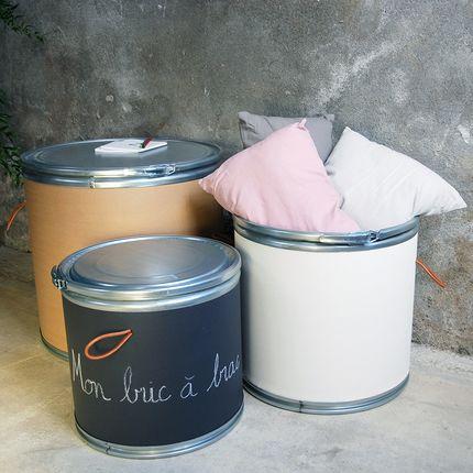 Boite de rangement - Fûts en kraft / Boites - UN ESPRIT EN PLUS
