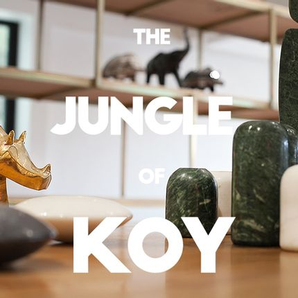 Sculptures / statuettes / miniatures - THE JUNGLE- KINDRED SPIRITS - KOY