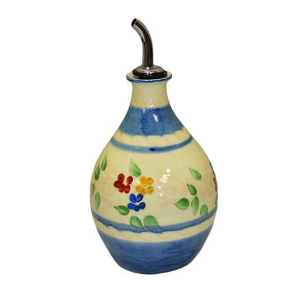 Ceramic - round bottle olive oil - SOULEO È PROVENCE