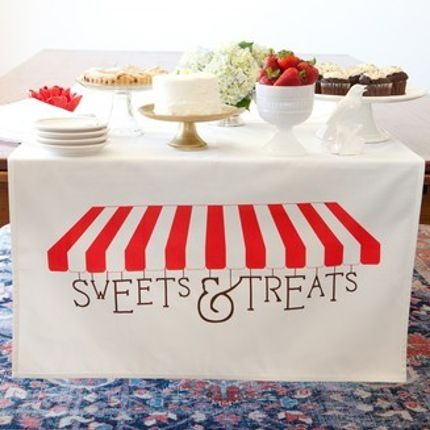 Gift - Table Banner, Sweets & Treats - TIN PARADE - PARTY. GIFT. HOME
