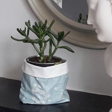 Homewear - Vide-Poche en coton enduit - Fleur de Soleil