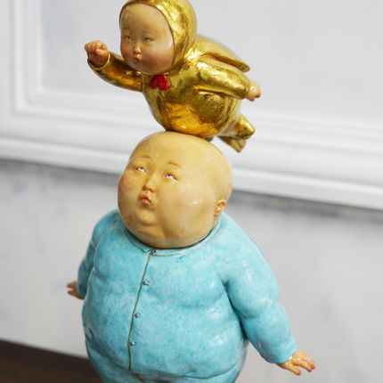 Sculpture - Super Baby - X+Q ART BEIJING