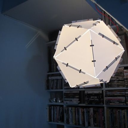 Hanging lights - Balade Geometric cube - BALADE GEOMETRIC