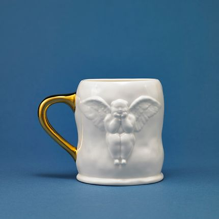 Mugs - Angel Milk Mug - X+Q ART