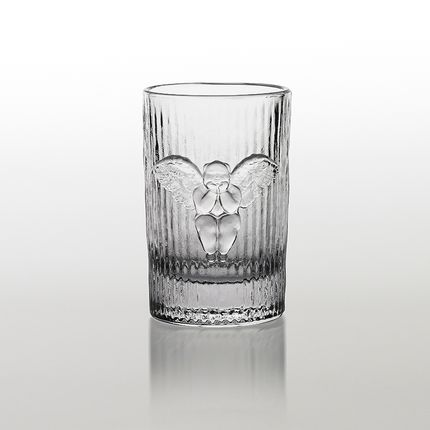 Glass - The Time Collection - Iced Water Glass - X+Q ART