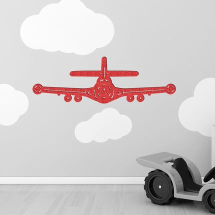 Fresques décoratives - Sticker tissu 3D : Spitfire - LOLA PARIS
