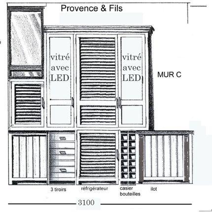 Wardrobe - CUISINE PLANTEUR - PROVENCE & FILS