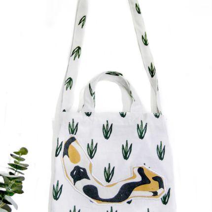 Bags / totes - Cotton canvas children bag - ATARAXIA