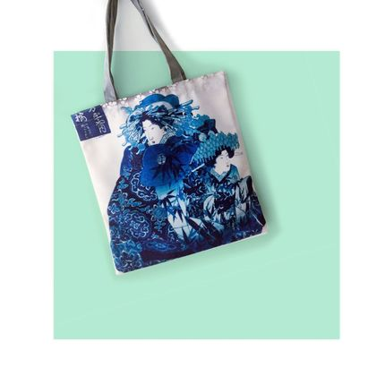 Bags / totes - Canvas Tote Bag/Sac Fourre-tout - JOURNEY TO THE EAST ART GALLERY