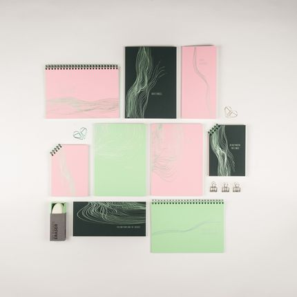 Stationery store - GREENSLEEVES Collection  - PAPETTE