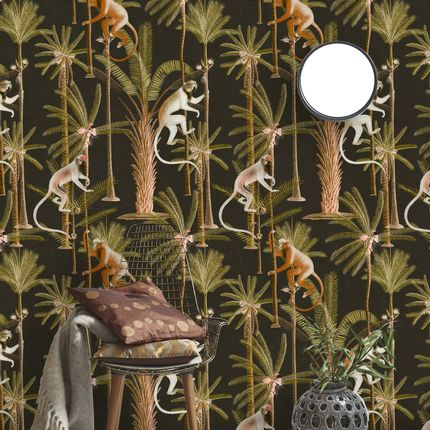 Wallpaper - BARBADOS Anthracite - MINDTHEGAP