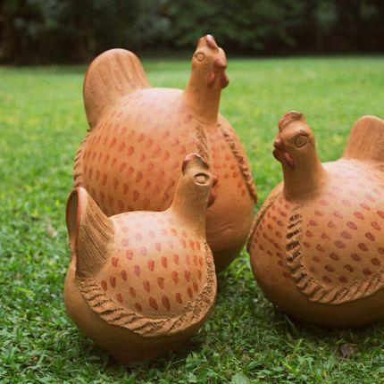 Céramique - Ita Gallina - OGA CIE