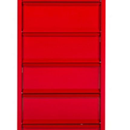 Wardrobe - 4 or 8 drawers storage furniture in steel - GROUPE PIERRE HENRY