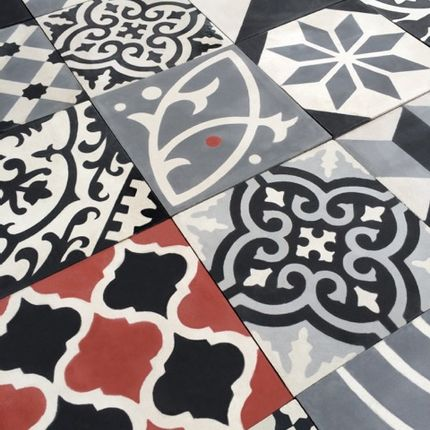 Tiles / flagstones - CEMENT FLOOR TILES  - CAROKECH