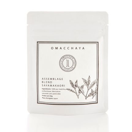 Coffee / tea - LE NUMERO 1-BLEND SAYAMAKAORI - 50g zip lock bag - OMACCHAYA (JAPANESE MATCHA & TEAS)
