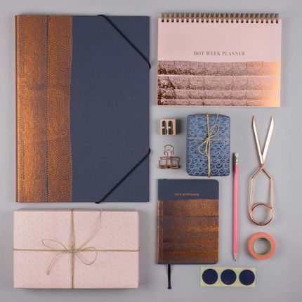 Stationery store - Hot Copper Stationery Collection  - PAPETTE