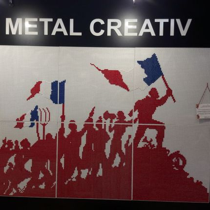 "Wall decoration - ""French Revolution"" decorative wall  - H METAL"