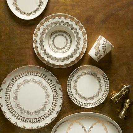 Assiettes de reception - Nonna peppy Fine Bone China dinnerware - NONNA PEPPY