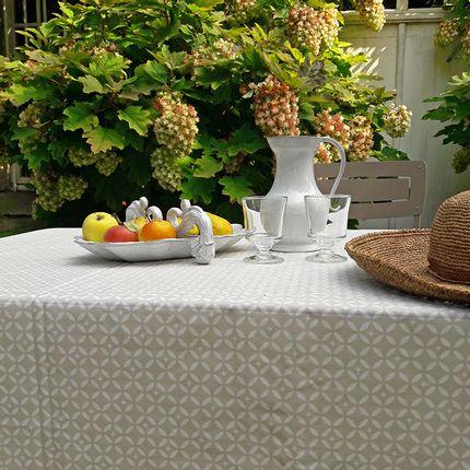 Table cloths - Wipeable tablecloth sand mosaic - Fleur de Soleil