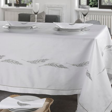Linge d'office - FEATHER TABLECOVER  - PAM DI PICCARDA MECATTI  ITALY