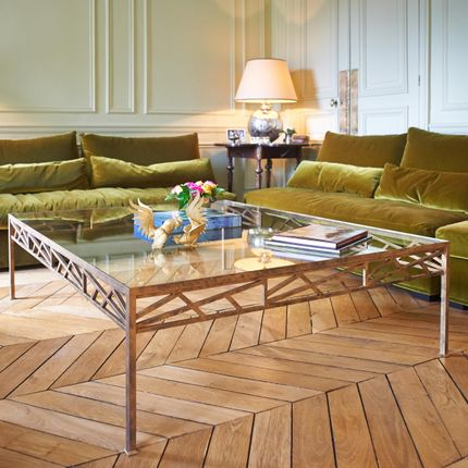 Coffee tables - Laborde coffee table - ADRIANDUCERF - MOBILIER
