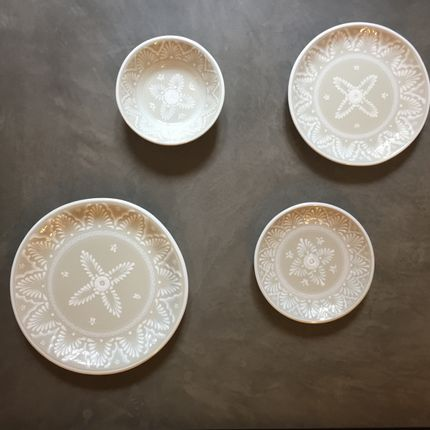 Everyday plates - COLLECTION IVOIRE TABLEWARE - L'ATELIER FOLKLORE