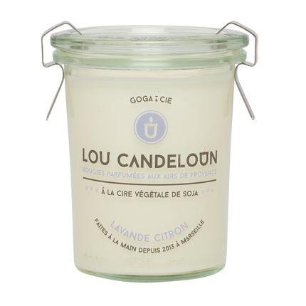 Bougies - Bougie lavande et citron - LOU CANDELOUN