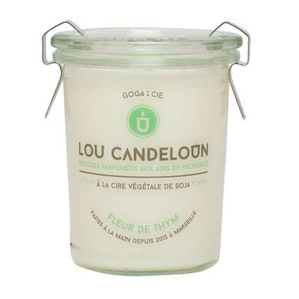 Bougies - Bougie fleur de thym - LOU CANDELOUN