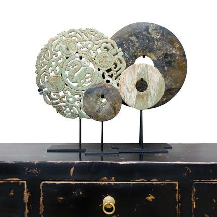 Design objects - Stone Bi-Discs - THE SILK ROAD COLLECTION
