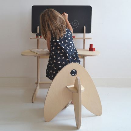 Children's desks - BLACK BIWO - MAKÉ MAKÉ