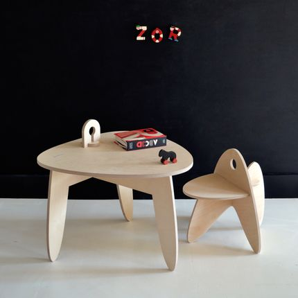 Tables and chairs for children - MÉTÉORE - MAKÉ MAKÉ
