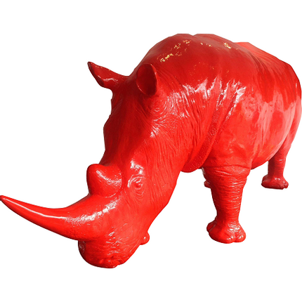 Sculpture - Rhinoceros  - TEXARTES