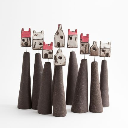 Sculptures / statuettes / miniatures - House in the cloud - BÉRANGÈRE CÉRAMIQUES
