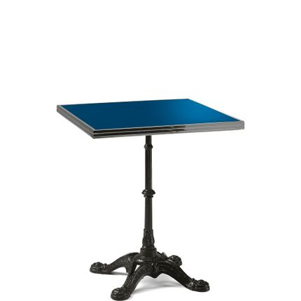 Lawn tables - ARDAMEZ • TRADITION Enamel bistro table / Imperial Blue - ARDAMEZ