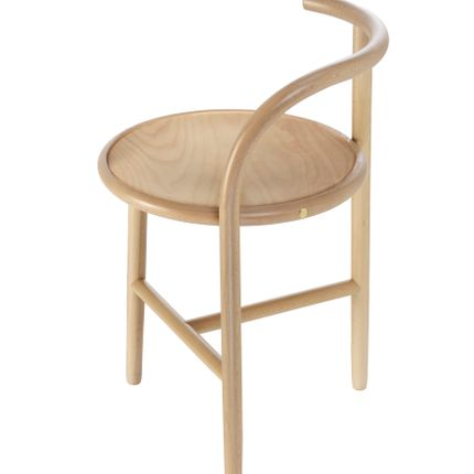 Stools - SINGLE CURVE COLLECTION - GEBRUEDER THONET VIENNA GMBH (GTV)