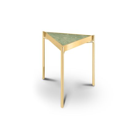 Coffee tables - KANDINSKY | Side Table Triangular - Indian Green - OIA  DESIGN