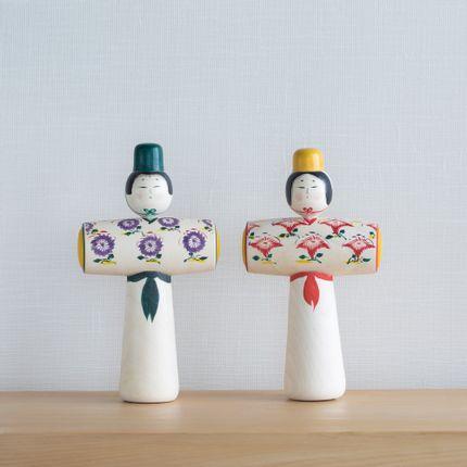 Pièces uniques - Hiina / Tachibina - SAKURAI KOKESHI