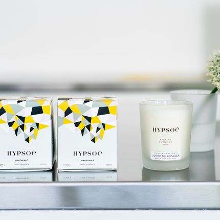 """Personalizable objects - THE """"SILVER COVER"""" SCENTED CANDLES - HYPSOÉ - MADE IN PARIS"""