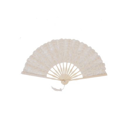 Party decorations - fan with lace  - NEW SEE SARL