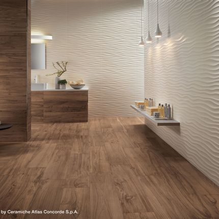Wall coverings - 3D WALL DESIGN | Sinuous Motifs - ATLAS CONCORDE